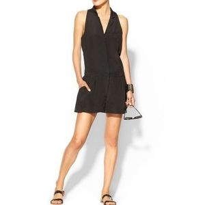 Elizabeth and James Carrie Black Silk Romper